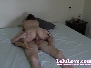 Lelu Love-Tripod Homemade Amateur Riding Creampie
