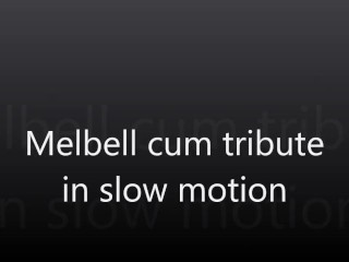 melbell cum in slow motion
