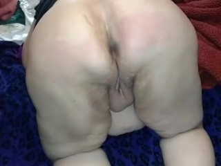BBW flogged with rope