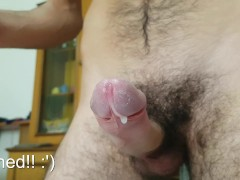 Edge session - self tease and ruined orgasms - Can't hold cum!