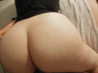 POV PAWG Wife Gets A Hard Fucking