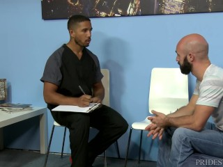 MenOver30 Getting a Physical from Hot Black Nurse