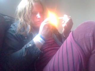 Tgirl tina smoke