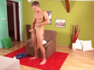 Rosta Benecky Uncut Cock Masturbation
