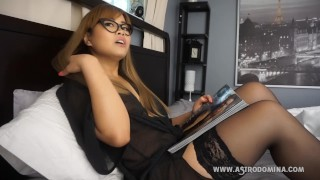 AstroDomina - Distraction JOI  mother joi big boobs point of view helping mom shaved pussy glasses asian mom