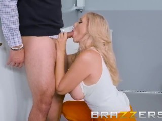 STEPMOM IN JAIL GETS HER STEPSONS BIG COCK DURING A VISIT - BRAZZERS
