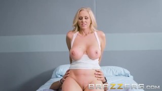 STEPMOM IN JAIL GETS HER STEPSONS BIG COCK DURING A VISIT - BRAZZERS  big tits big cock tease old mom brazzers hardcore butt mature jail mother stepmom big boobs fake tits