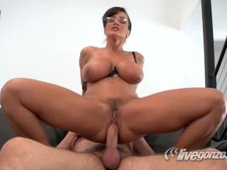 Lisa Ann + Steve Holmes, pussy