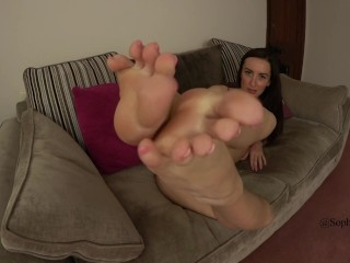 Sophia Smith Foot Fetish Bare Feet