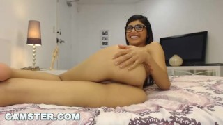 MIA KHALIFA - Big Tits Arab Pornstar Webcam Solo For Fans On Camster.com