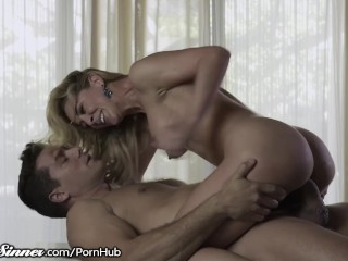 Cherie DeVille rides her Lovers Big Cock