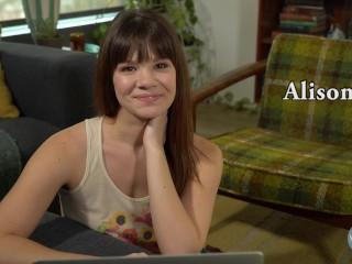 Porn Star Alison Rey Watches Her Own Porn