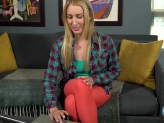 Porn Star Riley Reyes Watches Her Own Porn