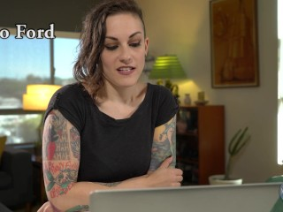 Porn Star Rizzo Ford Watches Her Own Porn