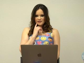 Porn Star Jenna J Ross Watches Her Own Porn