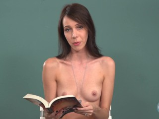Topless Girls Reading: Reflected In You
