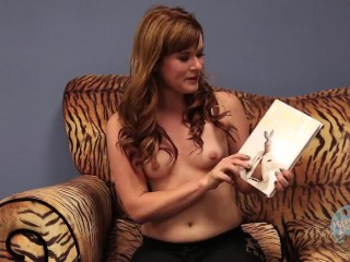 Topless Girls Reading Books: I Am The New Black
