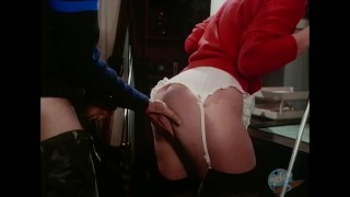 Classic Porn: She has sex with ski instructor  classic cowgirl doggy stockings facial woodrocket high heels hairy cumshot blonde blowjob
