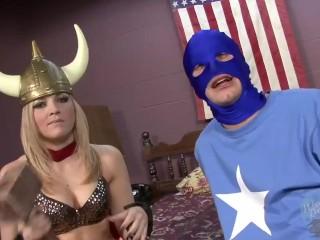 On the Porn Set with Alexas Texas as Whor