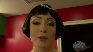 Preview 1 of On the Porn Set of Tron Porn Parody Part 2