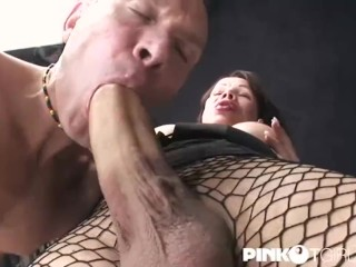 Mireja monster cock fuck and cum!