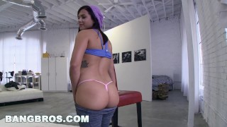 Preview 2 of BANGBROS - Big Booty Keisha Grey Fucked By Big Black Cock on Ass Parade