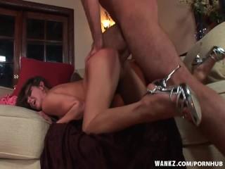 WANKZ- Rachel Roxxx Cums On Big Cock