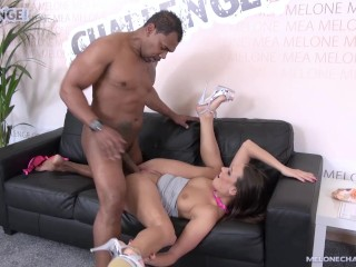 Franco Roccaforte meet hot pornstar Mea Melone and failed