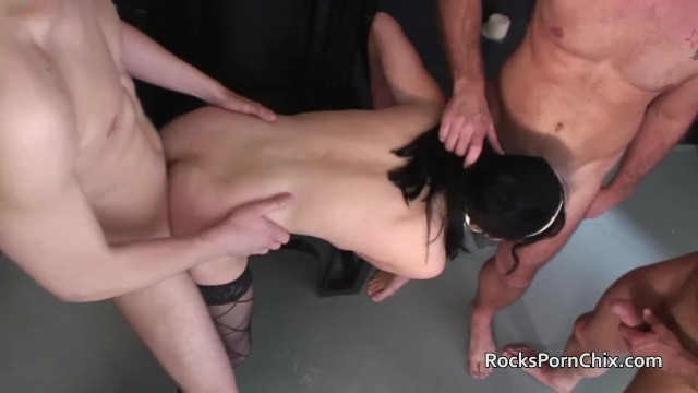 Sister fucked in chapel by four priests 1
