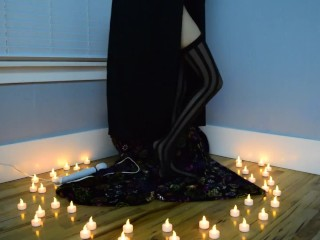 Dark Witchy Dildo Solo Sample - Halloween2017 - MissKittyMoon.Manyvids.com