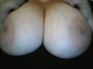 BigTits4BigCock Pkays with Big Huge Natural Tits Solo