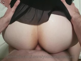 Thick Booty Takes Quick Anal fuck (short)