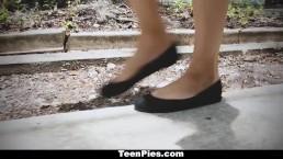 TeenPies - Filling Up My GF's Bestfriend with Jizz