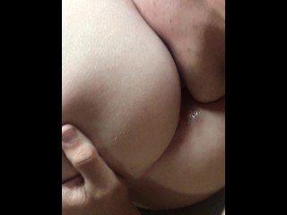 Fingering and licking my tight pussy