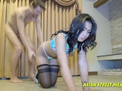 Clean The Floor While Fucking Asian F...