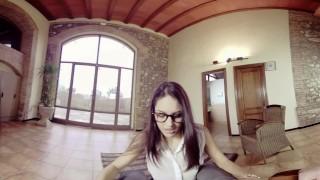 Preview 1 of BaDoinkVR.com Fuck Latina Spex Teen Schoolgirl Carolina Abril In VR
