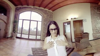 Preview 2 of BaDoinkVR.com Fuck Latina Spex Teen Schoolgirl Carolina Abril In VR