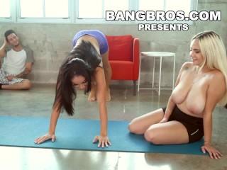BANGBROS - Big Tits Latina Victoria Junes First Creampie on BTCP