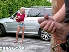 Movie:BANGBROS - Stalking Teen Kenzi...
