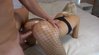 Preview 2 of College GF Teen gets crazy from massive creampie multiple orgasm CarryLight