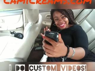 Cute Face Ebony BBW - Cami Creams
