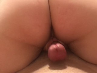 Closeup Pussy Grinding and Creampie