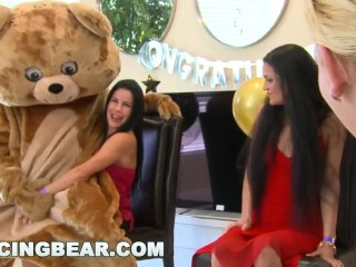 DANCING BEAR – Another CFNM Cock Patry With Crazy Girls Sucking Off Dudes