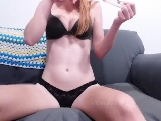 Smoke and Cum with TeenyGinger