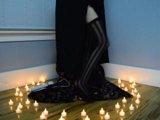 Dark Witchy Dildo Solo Teaser 1 -Halloween 2017- MissKittyMoon.ManyVids.com