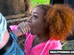 Jovencita negra quiere polla
