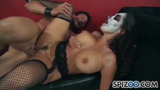 Spizoo - Big tit Milf Ava Adams is fuked by Tommy Gunn, big booty