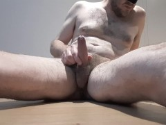 Cumshot and dripping cum to finish off my week alone