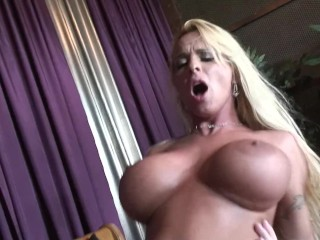 cheating blonde mom holly halston rides a hard dick
