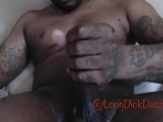MY BIG DICK RIPPED THIS TOY PUSSY STRETCHED IT OPEN @LONGDICKDEZZY